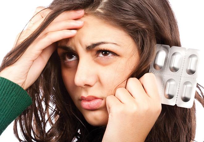 Rụng tóc do sử dụng quá nhiều thuốc điều trị bệnh