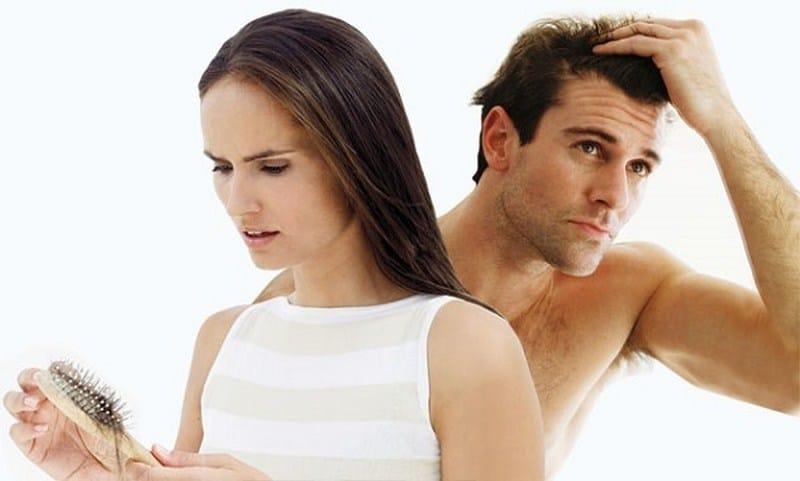 cách xử lý khi bị rụng tóc khi gội đầu, khi chải đầu