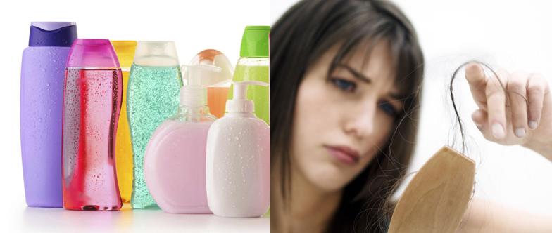 Rụng tóc do sử dụng dầu gội quá nhiều hóa chất