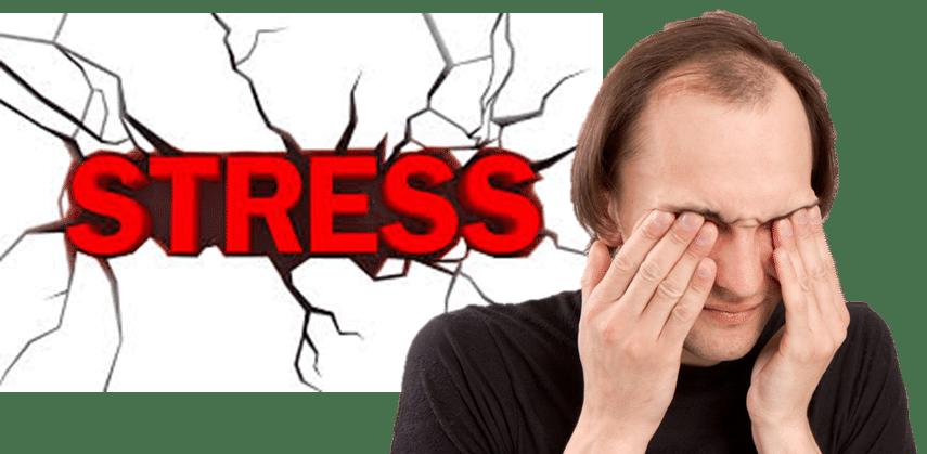 Rụng tóc do Stress, áp lực công việc