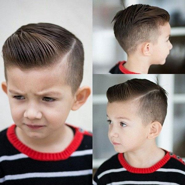 kiểu tóc undercut cho bé trai 3 tuổi, 4 tuổi, 5 tuổi
