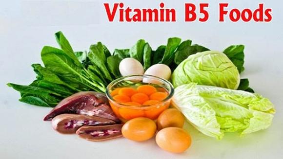 Rụng tóc do thiếu hụt Vitamin B5+Biotin trong chế độ ăn uống