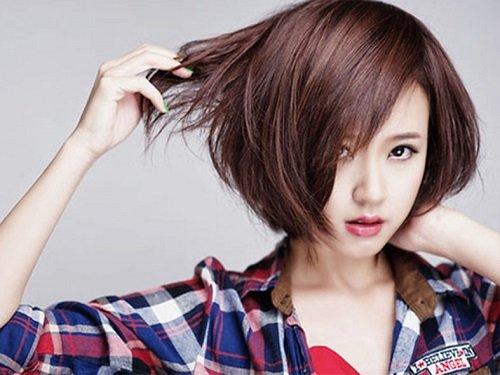 nữ mặt dài nên để kiểu tóc nào