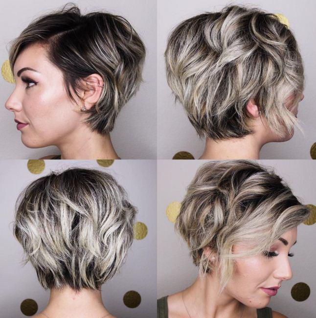 tóc đẹp ngắn nữ giới phá cách xư hướng tóc nữ 2018