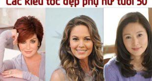 tổng hợp các kiểu tóc đẹp cho phụ nữ 50 tuổi