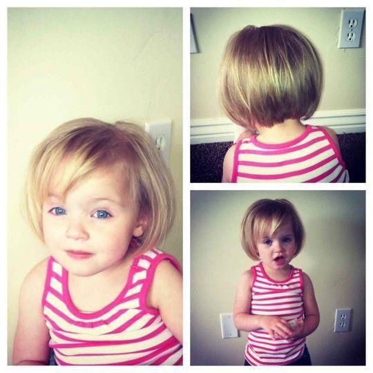 kiểu tóc ngắn đẹp cho bé gái 2 tuổi