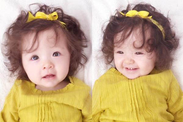kiểu tóc xoan ngắn cho bé gái 2 tuổi