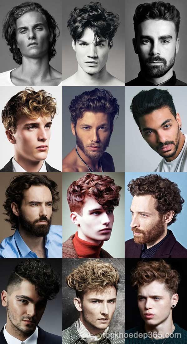 những kiểu tóc đẹp cho nam mặt dài trán cao 2018 2019
