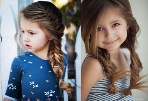 những kiểu tóc đẹp hợp với học sinh nữ cấp 1