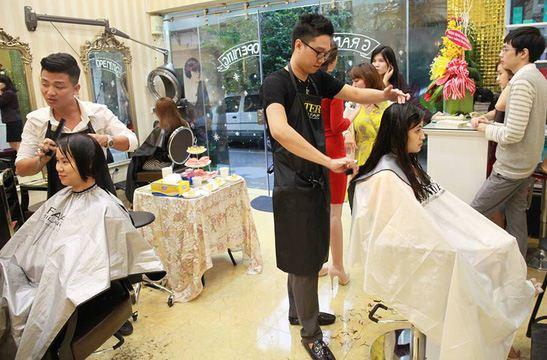 top salon cắt tóc nữ đẹp tại sài gòn - tphcm