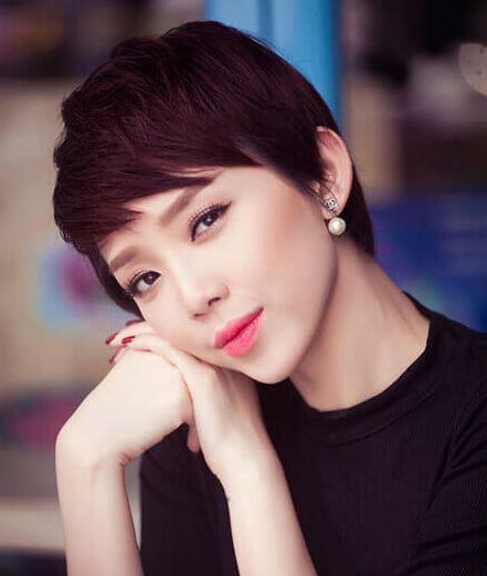 tóc tém tomboy của sao Việt