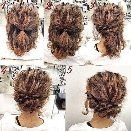 các cách tạo kiểu cho cô nàng tóc ngắn đi dự tiệc
