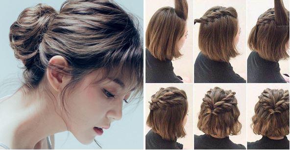 hướng dẫn cách tạo kiểu cho cô nàng tóc ngắn