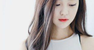 Kiểu tóc dài đẹp đơn giản cho mặt nhỏ