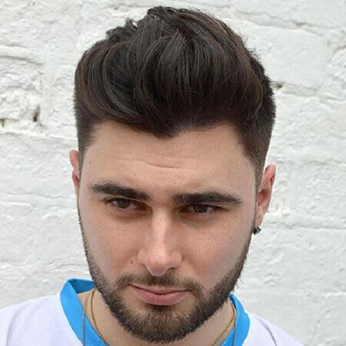 kiểu tóc nam đẹp mặt tròn 2020
