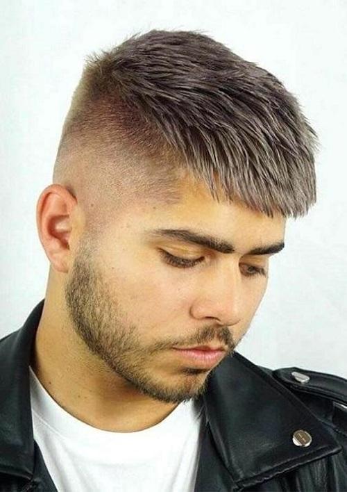 kiểu tóc đẹp cho nam mặt tròn hè 2020